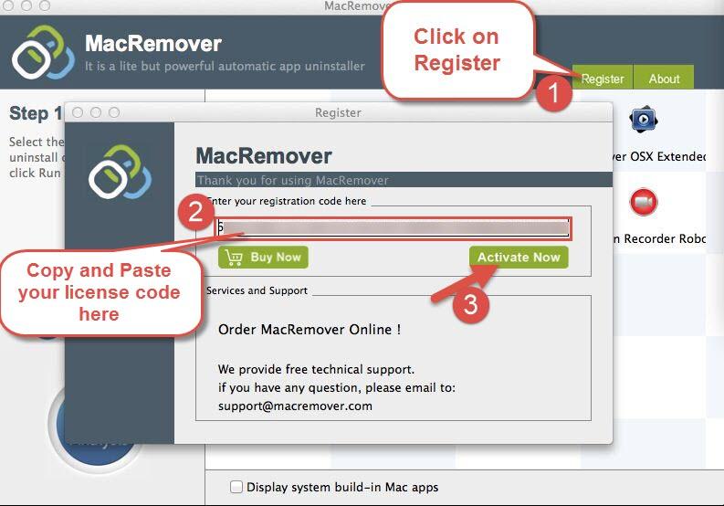 MacRemover Register